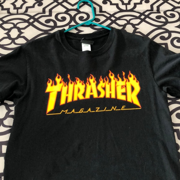 84e92958b314 Thrasher T-shirt. M 5c3259a8194dad41555c9077